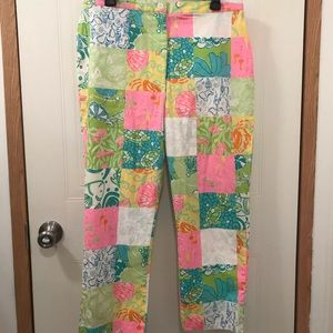 Lilly Pulitzer Classic Patchwork Pants